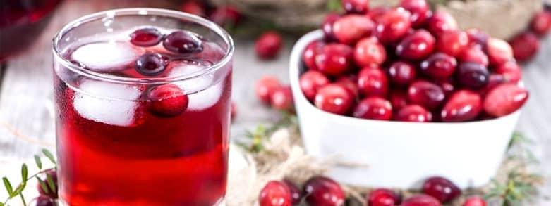 Tranbär i glas och i skål